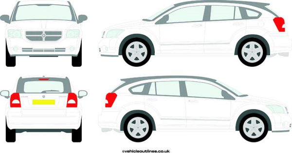 Cars Dodge Caliber 2006-12