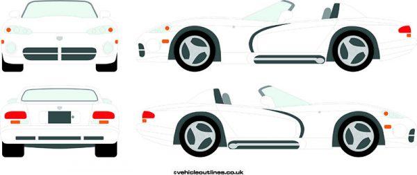Cars Dodge Viper 2000-04