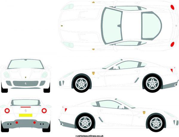 Cars Ferrari 599 2006-12