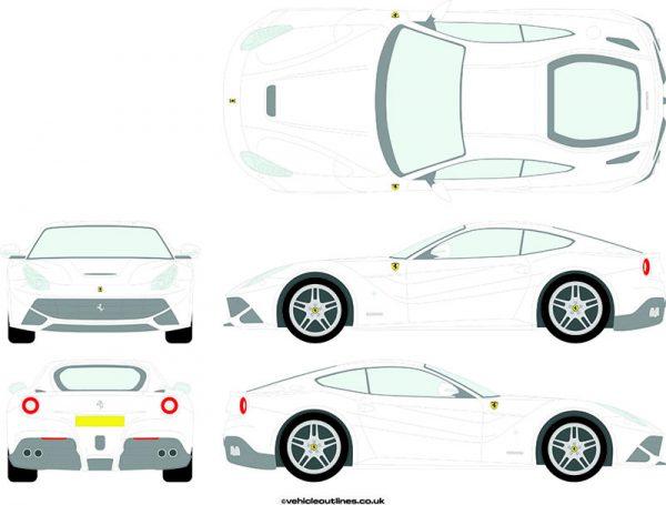 Cars Ferrari F12 2012-17