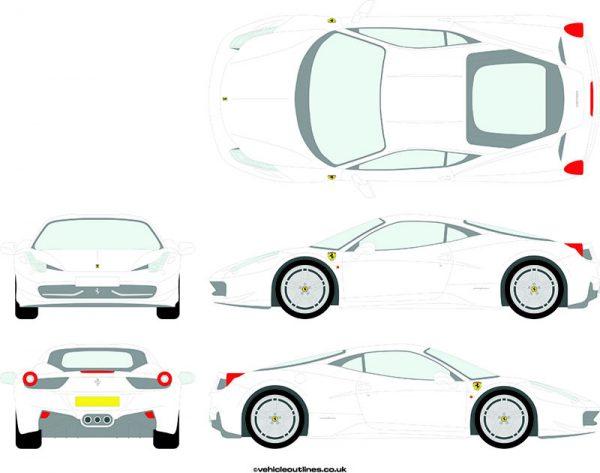 Cars Ferrari 458 2010-16