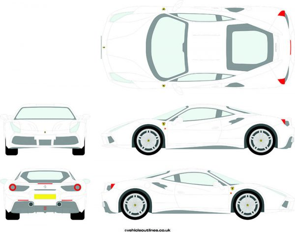 Cars Ferrari 488 2016-20