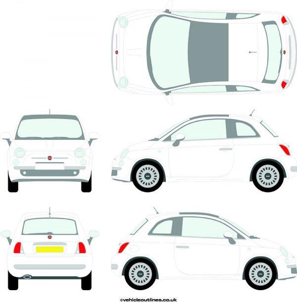 Cars Fiat 500 2008-15