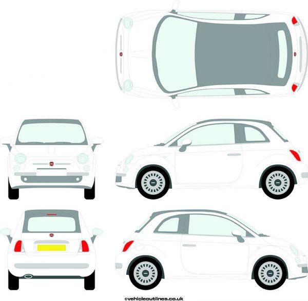 Cars Fiat 500 2009-15