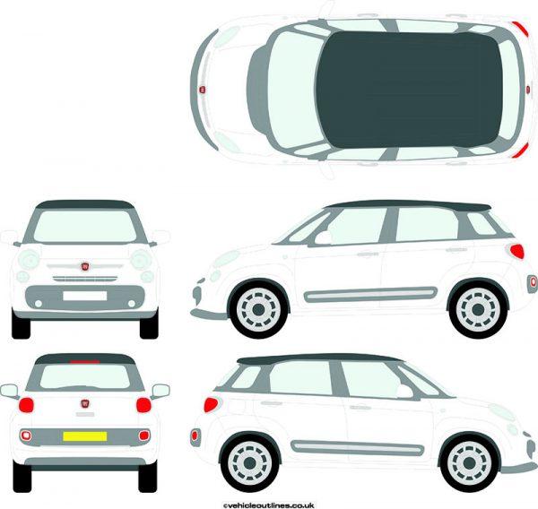 Cars Fiat 500L 2012-21