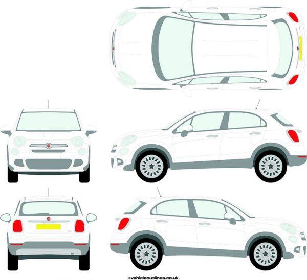 Cars Fiat 500X 2015-21