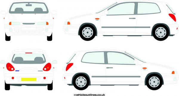 Cars Fiat Bravo 1995-2000