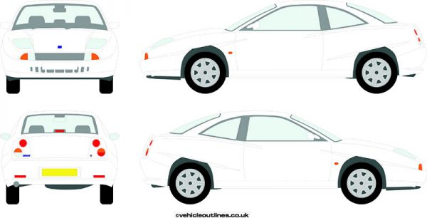 Cars Fiat Coupe 1995-2000