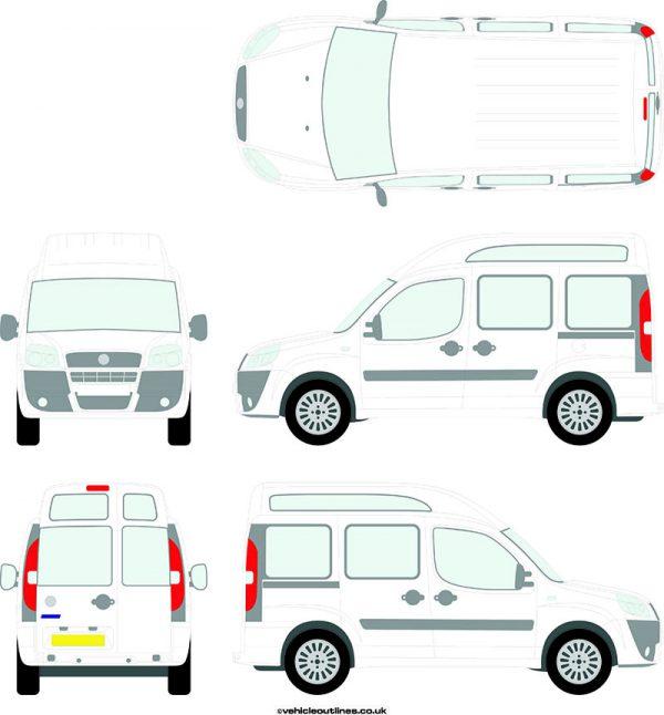 Cars Fiat Doblo 2006-10