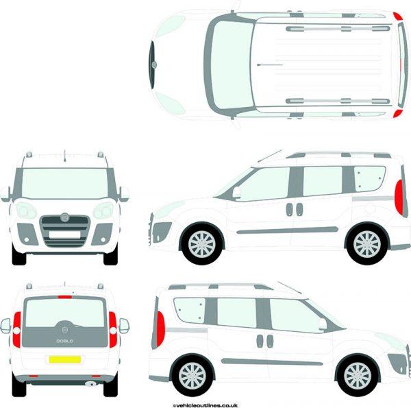 Cars Fiat Doblo 2010-15