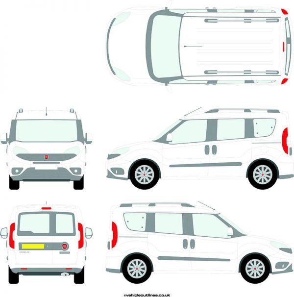 Cars Fiat Doblo 2015-21