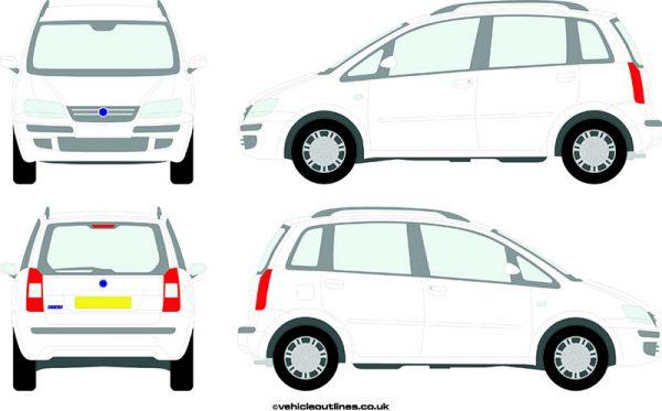 Cars Fiat Idea 2004-07