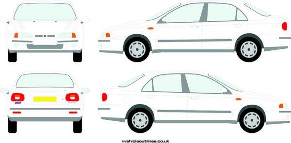Cars Fiat Marea 1997-2000
