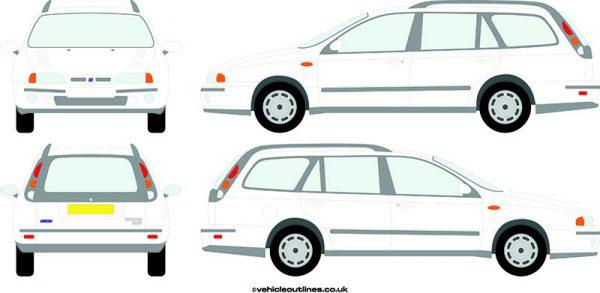 Cars Fiat Marea 1997-2002