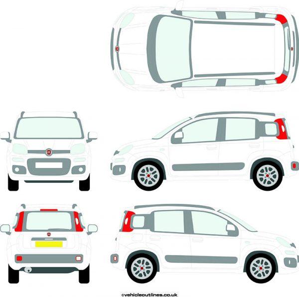 Cars Fiat Panda 2012-21
