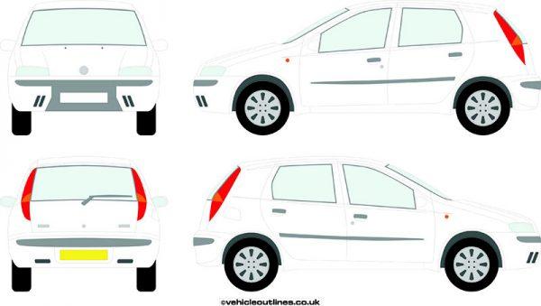 Cars Fiat Punto 1999-2003
