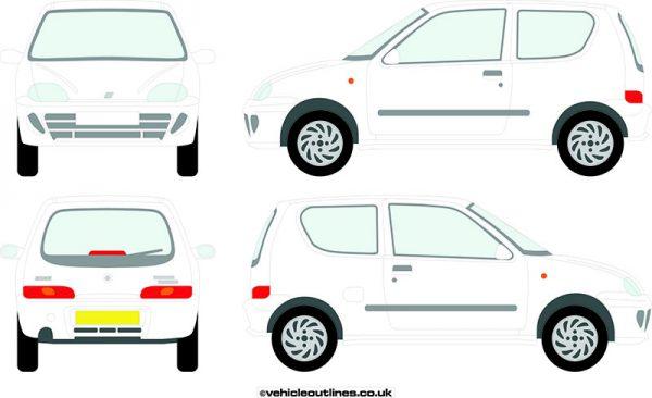 Cars Fiat Seicento 1998-2004