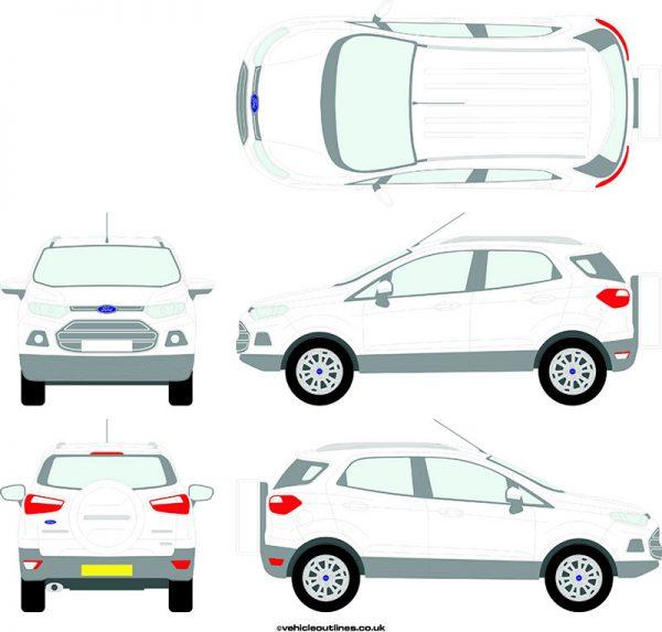 4x4 Ford Ecosport 2013-17