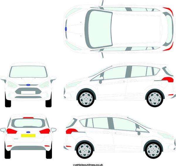 Cars Ford B-Max 2012-18