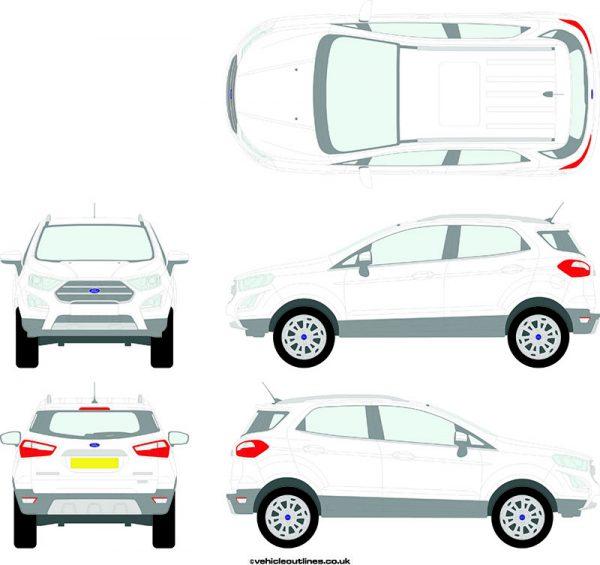4x4 Ford Ecosport 2018-21