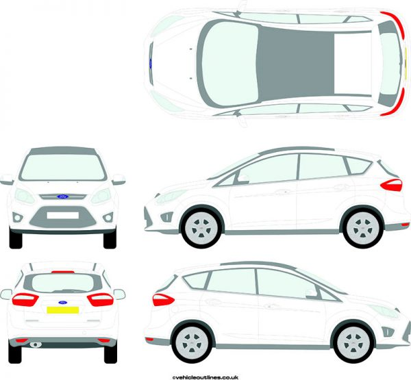 Cars Ford C-Max 2011-15