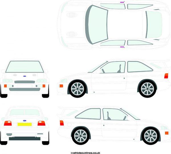Cars Ford Escort 1992-96