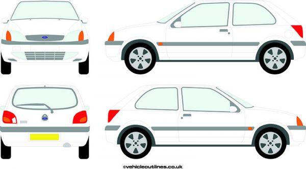 Cars Ford Fiesta 1999-2002