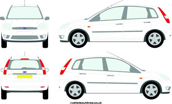 Cars Ford Fiesta 2002-08