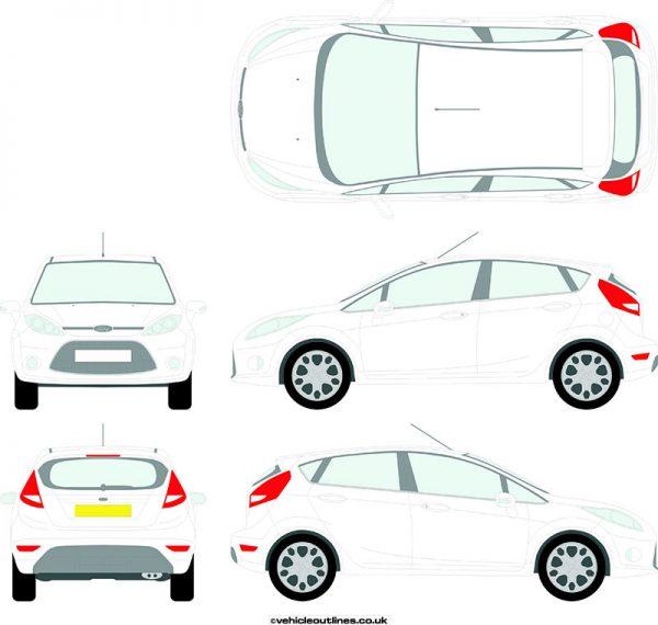 Cars Ford Fiesta 2008-12