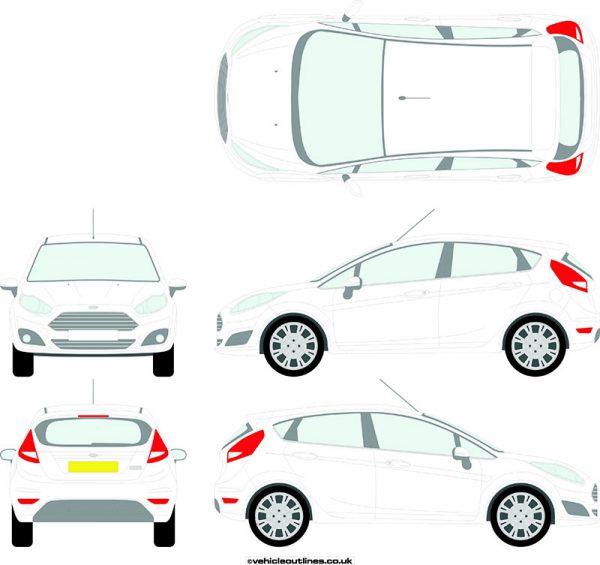 Cars Ford Fiesta 2013-17