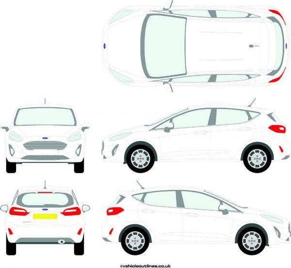 Cars Ford Fiesta 2017-21