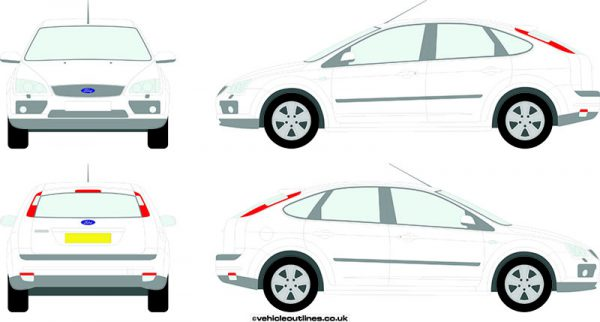Cars Ford Focus 2005-08
