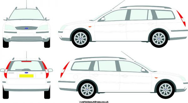 Cars Ford Mondeo 2000-07