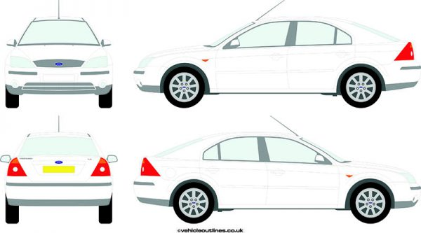 Cars Ford Mondeo 2002-07