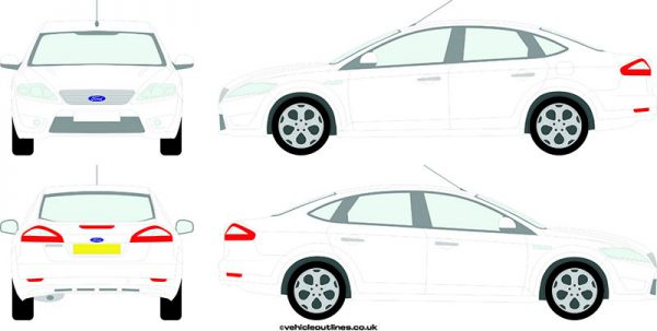 Cars Ford Mondeo 2007-11