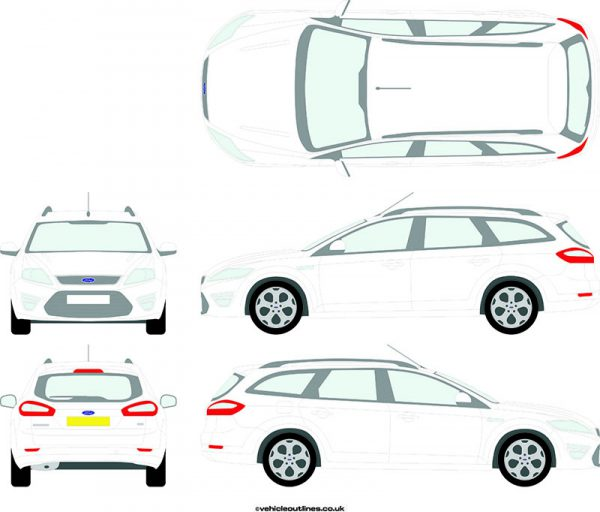 Cars Ford Mondeo 2011-14