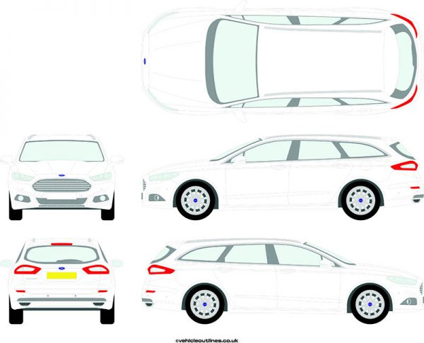 Cars Ford Mondeo 2015-19