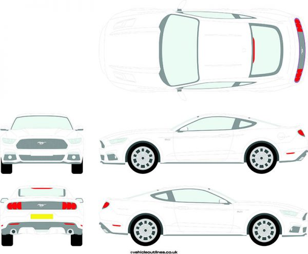 Cars Ford Mustang 2015-21