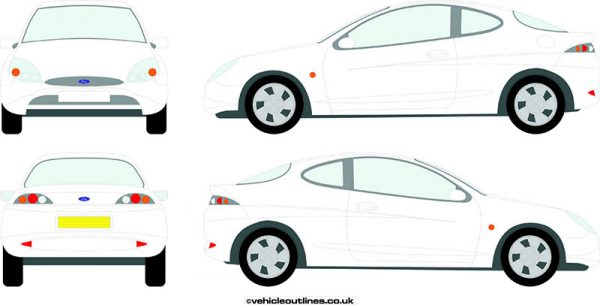 Cars Ford Puma 1997-2000