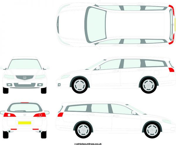 Cars Honda Accord 2003-08