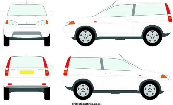 4x4 Honda HRV 1999-2004