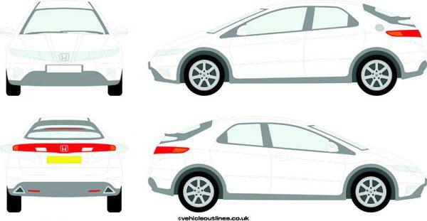 Cars Honda Civic 2006-12