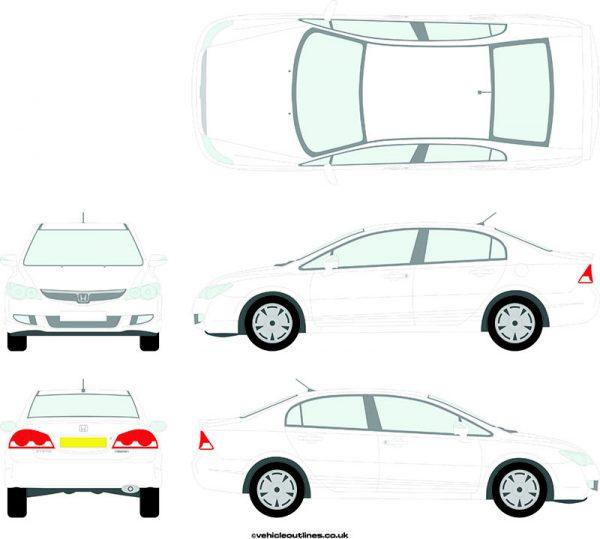 Cars Honda Civic 2006-08