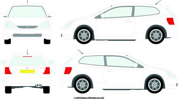 Cars Honda Civic 2000-03