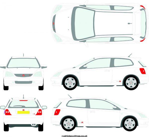 Cars Honda Civic 2004-06