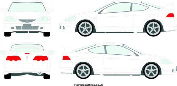 Cars Honda Integra 2002-04