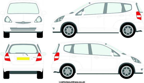 Cars Honda Jazz 2002-08