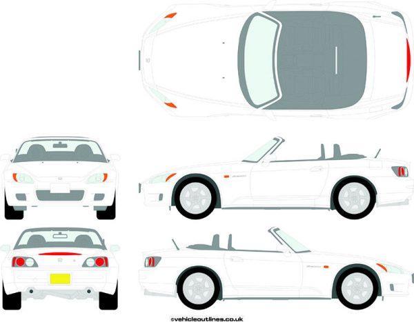 Cars Honda S2000 1999-2009
