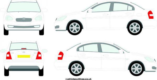Cars Hyundai Accent 2006-09