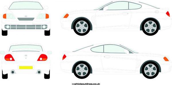 Cars Hyundai Coupe 2002-08